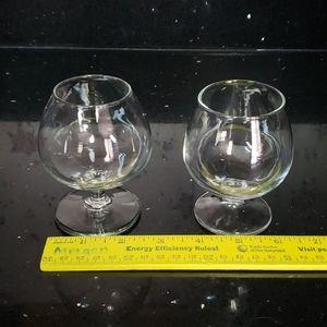 Pair of Brandy Glasses-Not Exact Matching Pair